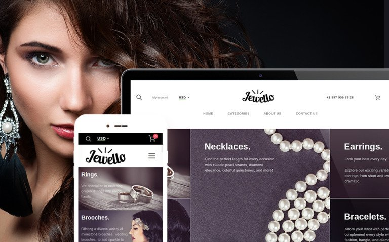 Jewellery Shop WooCommerce Theme New Screenshots BIG