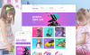 """""""Kinder"""" thème Magento adaptatif New Screenshots BIG"""
