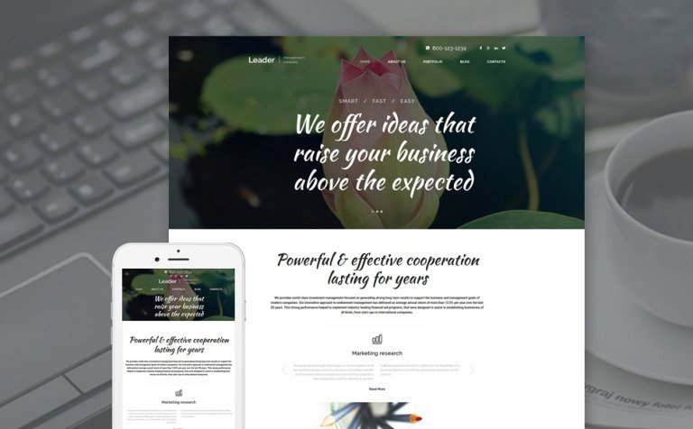 Leader WordPress Theme