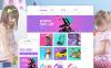 "Modello Magento Responsive #58505 ""Kinder"" New Screenshots BIG"