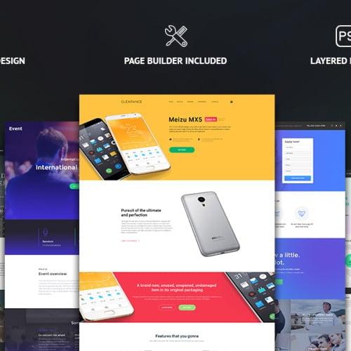 MonsterBundle - Responsive Landing Page Template