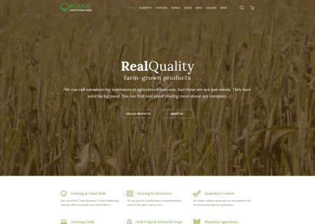 Agricultural Bootstrap