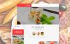 Plantilla Web Responsive para Sitio de  para Sitios de Cafeterías y Restaurantes New Screenshots BIG