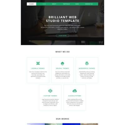 Web Design Responsive WordPress Teması
