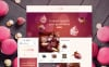Responzivní OpenCart šablona na téma Cukrárna New Screenshots BIG