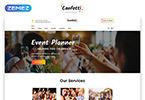 Reszponzív Confetti - Gifts Store Multipage Elegant HTML Weboldal sablon