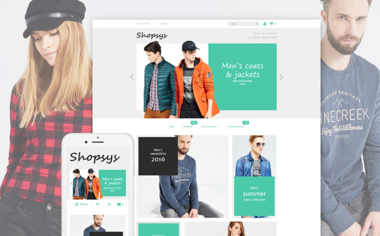 Shopsys - Designer Clothing Magento Theme New Screenshots BIG