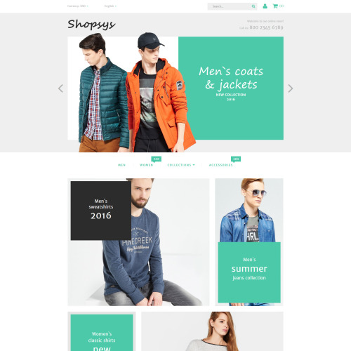 Shopsys - Magento Template based on Bootstrap