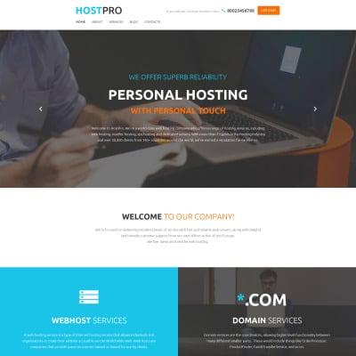 Tema de WordPress #70375 para Sitio de Hosting