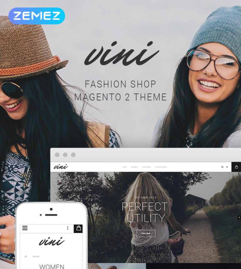Vini - Fashion Shop Magento 2 Theme