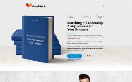 The Good Book Website Template