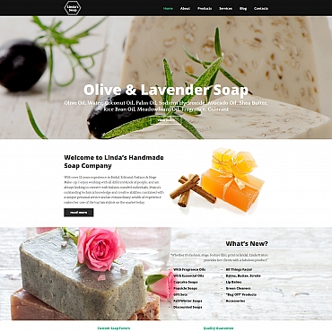 Preview image of Most Popular Moto CMS 3 template No. 58607