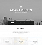 Real Estate Moto CMS 3  Template 58612