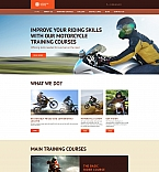 Cars Moto CMS 3  Template 58613