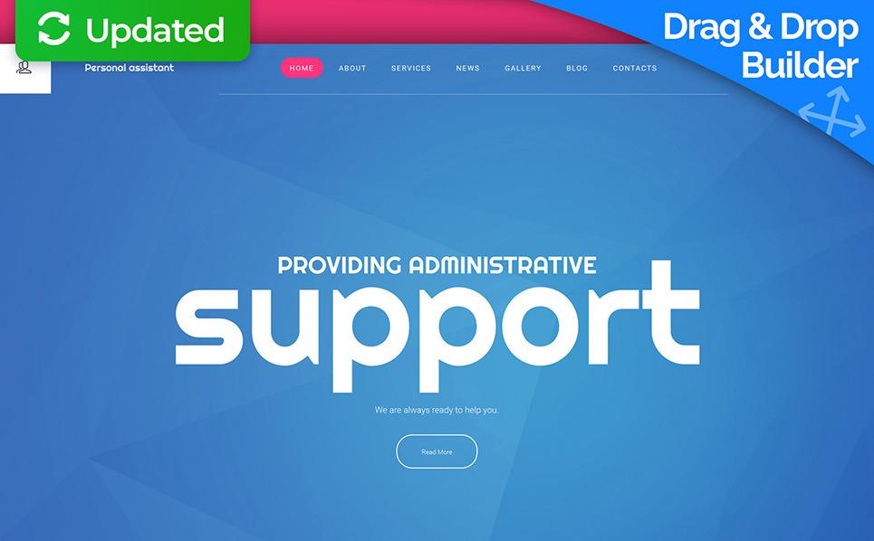 Tema Moto CMS 3 Responsive #58614 per Un Sito di Business e Servizi New Screenshots BIG