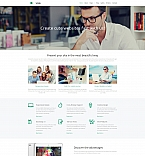 Web design Moto CMS 3  Template 58621