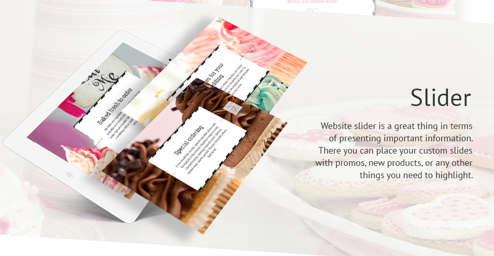 Cake Shop Website Template