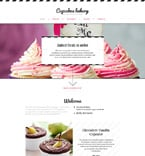 Food & Drink Website  Template 58627