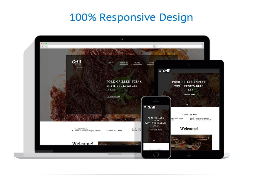 Modèles HTML5 Café et Restaurant #58628