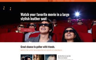 Cinematique Website Template