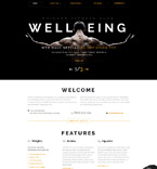 Sport Website  Template 58632