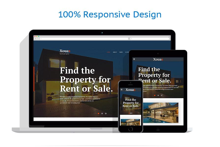 Modèles HTML5 Immobilier #58633