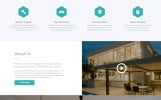 """Real Estate - Efficient Housing & Accommodation Multipage HTML"" Responsive Website template"