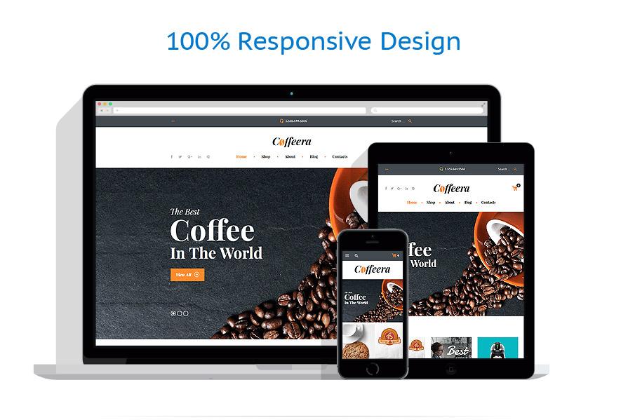 WooCommerce Themes Café et Restaurant #58649