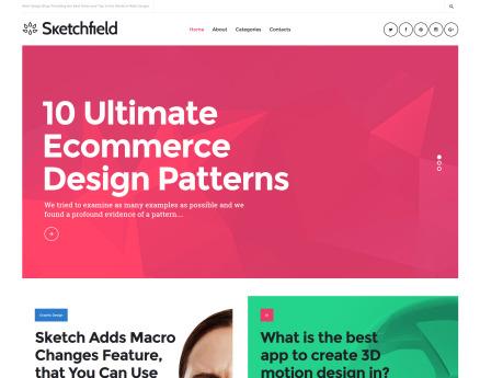 Sketchfield WordPress Theme