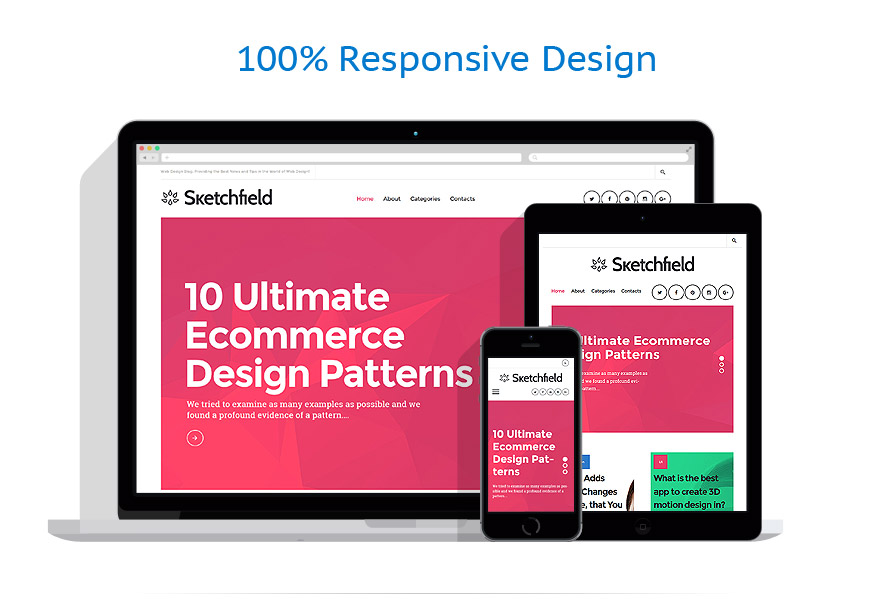 Thèmes WordPress Web design #58650