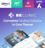 Medical WordPress Template 58654