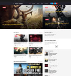 Games WordPress Template 58659