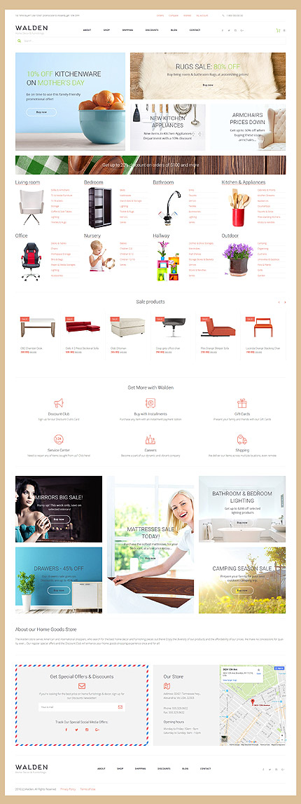 ADOBE Photoshop Template 58663 Home Page Screenshot
