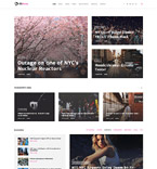 Society and Culture WordPress Template 58664