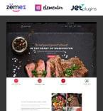 Cafe & Restaurant WordPress Template 58667