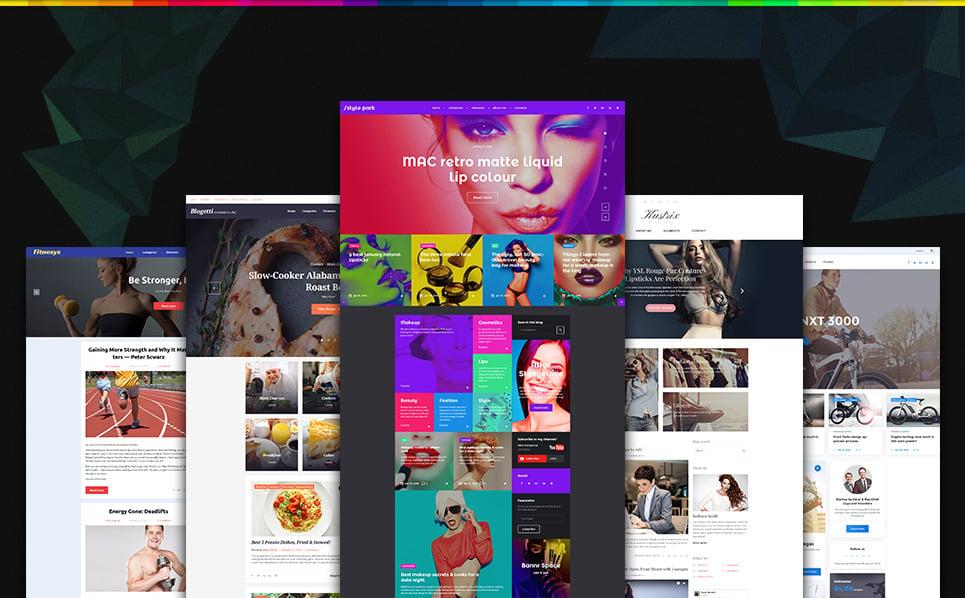 Blogging GPL Bundled WordPress Theme New Screenshots BIG