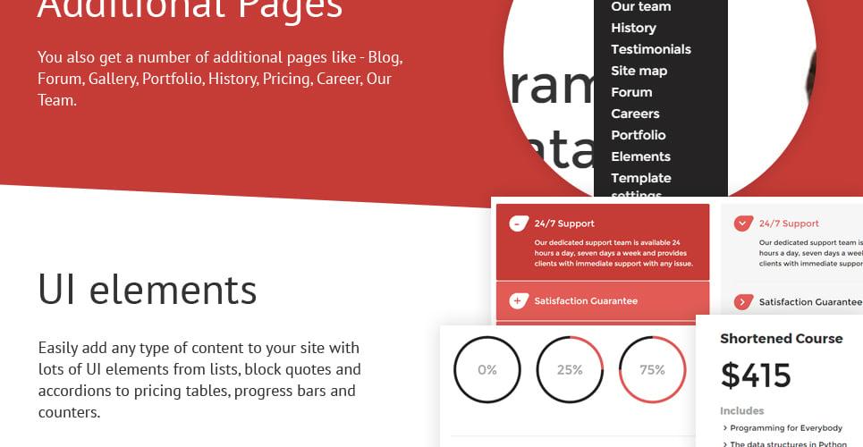 Creatica - Online Courses Responsive Joomla Template