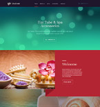 Beauty Website  Template 58680