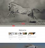 Animals & Pets Moto CMS 3  Template 58687