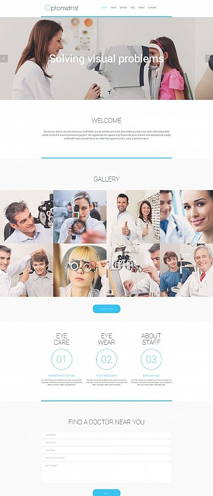 ADOBE Photoshop Template 58695 Home Page Screenshot