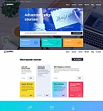Education Moto CMS 3  Template 58699