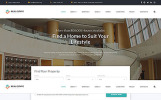 Адаптивний Шаблон сайту на тему агентство нерухомості