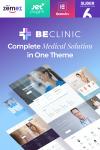 BeClinic - Multifunktionales WordPress Theme für Websites aus dem Bereich Medizin