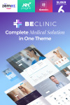 BeClinic - Многоцелевая WordPress тема для медицинских учреждений