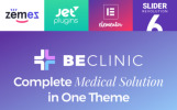 BeClinic - Tema WordPress multifunzione per centri medici