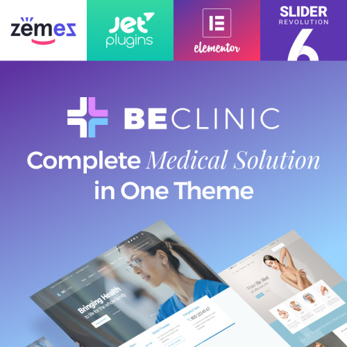 BeDentist Dentist & Medical - Responsive WordPress Template