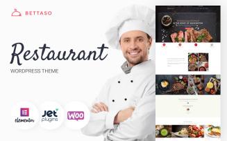 Bettaso - Cafe & Restaurant WordPress Theme