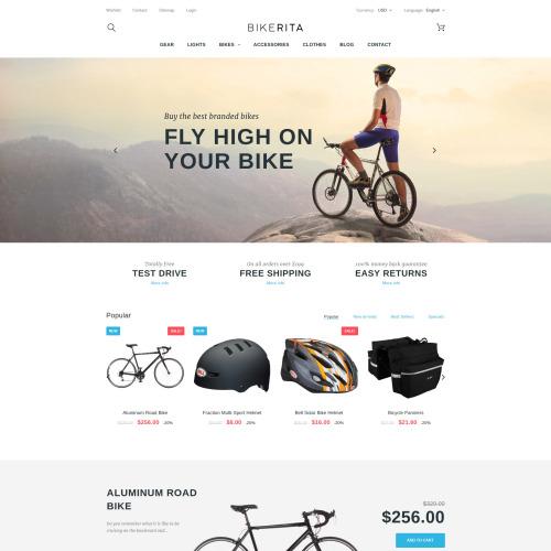 Bikerita - PrestaShop Template based on Bootstrap
