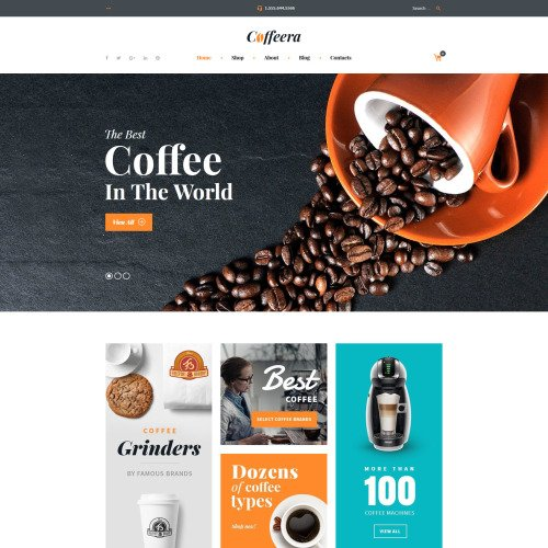 Coffeera - Responsive WooCommerce Template