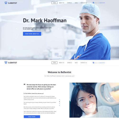 Dentist - Dentistry Template based on Bootstrap